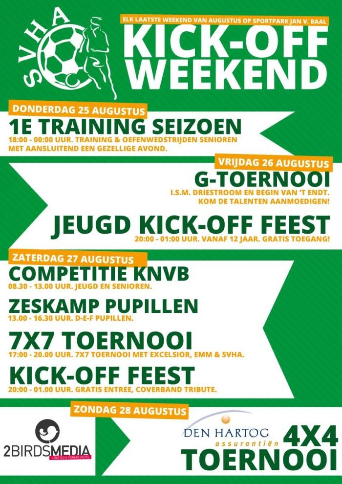 SVHA Kick-off Weekend 2016