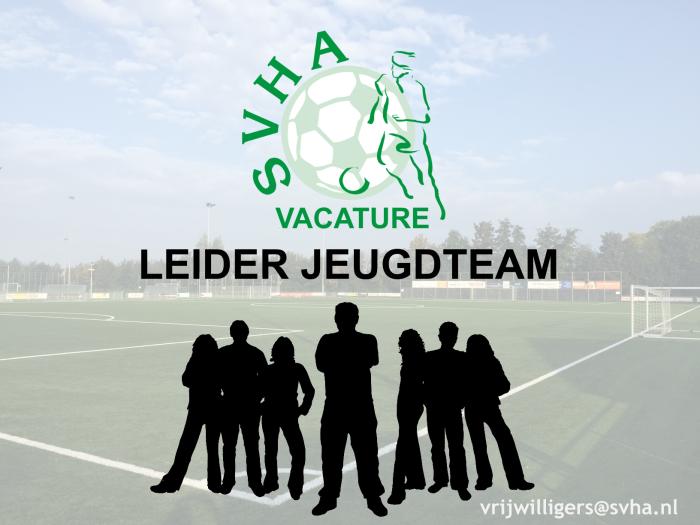 vacature leider jeugdteam