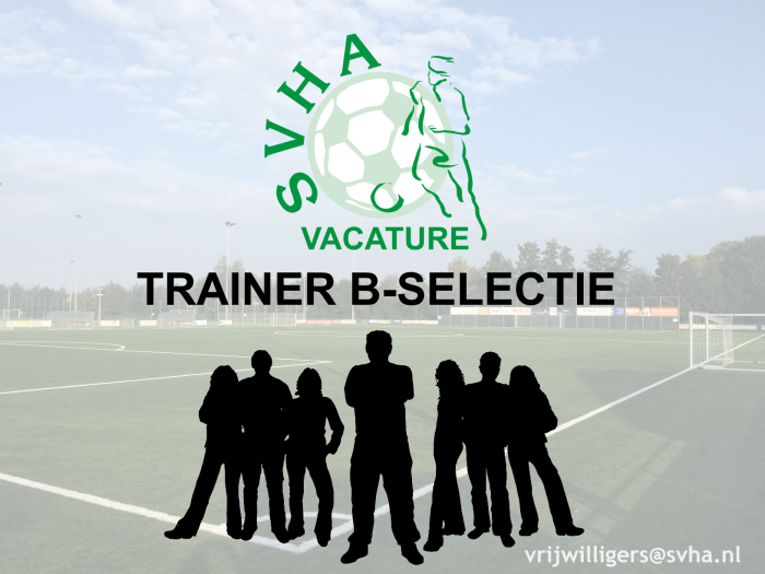 vacature trainer b-selectie